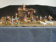 Heirloom Fontanini Nativity Set - 20 Pc Incl. Stable 5 Inch Figurines