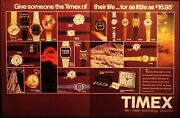 Timex - Watches And Clocks - Dodge 400 Car - Vintage 2 Pages 1981 Ad - Advertising