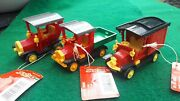 Joblot 3 X Rare Vintage Lehmann Gnomy Friction Drive Vehicles From West Germany