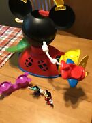 Vintage Mickey Mouse Clubhouse Fly 'n Slide Playset With Accessories, Figures