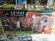 1993 Kenner Batman The Animated Series Batcave Command Center Playset In Box