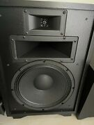 Klipsch Heresy Iii Speakers Black Ash Pair Excellent Condition Local Pickup