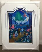 Melanie Taylor Kent Wizard Of Oz Serigraph Signed Limited Edition Framed 212/500