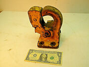 Heavy Duty Pintle Hitch. Used, American Made, Trailer, Heavy Equipment, Towing