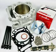 Rhino Grizzly 660 Oem Cylinder Mudbuster Cam Complete Top End Rebuild Parts Kit