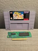 Pocky And Rocky Snes Authentic And Tested Works Flawlessly
