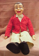 Vintage 1960's Paul Winchell's Jerry Mahoney 24 Ventriloquist Dummy Brown Hair