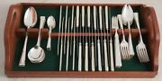 Fulwood Pattern James Ryals Sheffield Silver Plated 56 Piece Canteen Of Cutlery