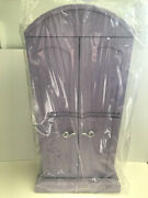 New In Box American Girl Computer Armoire With Accessories Purple  Retired 2009