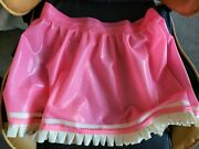 New Rubber Latex Skirt Club Party Cosplay Role-play Character Shiny Uk Seller