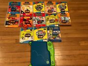Leap Frog Leappad With 13 Books And 13 Cartridges Tested