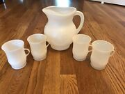 Vintagekool Aid Pitcherfour White Cups