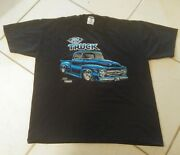 Ford Trucks Vintage 1994 Official Shirt Menand039s Size Xl Black 50s Pickup Jerzees