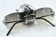 Rimless Vintage Sunglasses Fred Glasses Big C Decor Ct0092o Piccadilly