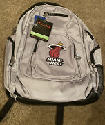 Miami Heat Deluxe 2 P Backpack Waterproof High Visibility Bag Free Shipping