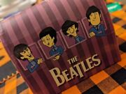 Rare Vintage Beatles Salt And Pepper Shakers Lunchbox Theme