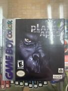 Factory Sealed Planet Of The Apes Nintendo Game Boy Color Free Ship Great Cond