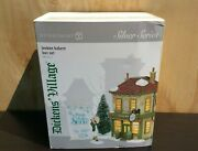 Dept 56 Dickens Village Silver Series London Bakery Boxed Set 6005401 New Sealed