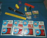 Vintage 1950's Proll Toys Harmonica Dime Store Elgee Parachute Army Men Knife