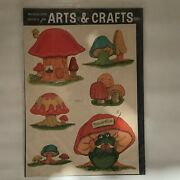 Lot 2 Retro Vintage Meyercord Decals Mushrooms Frogs Turtles 1531-c And 1540-e