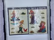 Lot 2 Retro Vintage Meyercord Decals Boys Dogs Chickens Turtles 1532-f And 1532-e