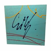Dale Chihuly Signed Autograph Hand Painted Cover Baskets 1994 Rare Collectible