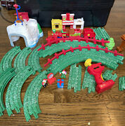 Fisher-price Geotrax North Pole Express Christmas Train Set