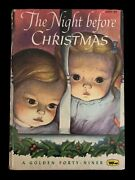 The Night Before Christmas 1st A Ed. Golden Forty Niner Book Eloise Wilkin 1956