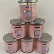 Yankee Candle Pink Sands 6 Small One-wick Tumblers Soy Wax 7 Oz Jars Lot 102