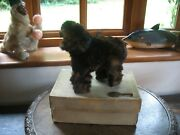 Lovely Antique Automaton Grizzly Bear 1900and039s Roullet Decamps Wind Up Works Box