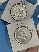 1840 An 1840-o Seated Liberty Half Dollar Two Coins