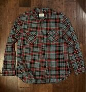 Fear Of God - Fog Collection Two Flannel Size Xl Pac Sun Long Sold Out Shirt