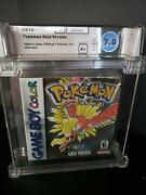 Pokemon Gold - Gameboy Color - Wata 7.0 - A+ - Gbc - Brand New Sealed