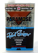 Paramose Paint Stripper Thin 5l Industrial Use Read Important Details Below