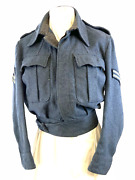 Ww2 Canadian Rcaf Battledress Blouse Jacket Size No 7 1945 Dated Corporal