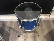 Pink Floyd Vinyl Record Drum Coffee Table Upcycled Furniture Funky Furniture