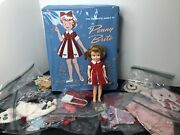8andrdquo Vintage Ideal Penny Brite Doll Lot Of 15 Outfits And Case Trunk 1964 Original R
