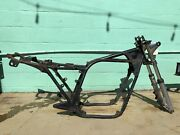 And03978 Kawasaki Kz650 Titled Frame With Front Forks