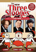 The New Three Stooges Complete Cartoon Collection Dvd, 5-disc Set Unopened