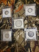 Puerto Rico Colonial Spain Complete Collection Genuine Silver Coins
