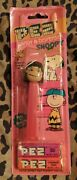 Lucy Charlie Brown Peanuts New Sealed Card Pez Red Dispenser Single With Candy