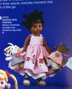 """Madame Alexander 8"""" Doll """"making New Friends"""" 37225 African American Black Doll"""