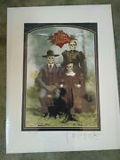 Stanley Mouse - Giclee 17 X 23 Signed And No. Digital Print Dead Family Album