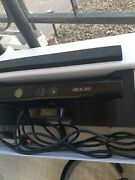 Microsoft Xbox 360 Black 256 Gb Lot. 15 Games 1 Console 1 Kinect 4 Controller