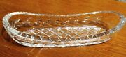 Waterford Celery Pickle Relish Glandore Dish Crystal Glass