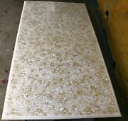 5and039x2.5and039 Marble Table Top Coffee Semi Precious Antique Inlay Home Pietra Dura W1
