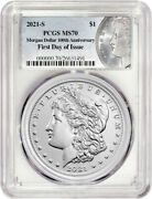 2021-s 1 Morgan Dollar First Day Of Issue Pcgs Ms70