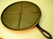 Vintage Griswold 739 Cast Iron Griddle Slant Logo, 11 In. Pan, Classic Cooking