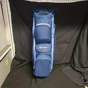 Inew W/ Tags Taylormade Golf- 2020 Supreme Cart [us] Bag Navy Blue/navy Flag