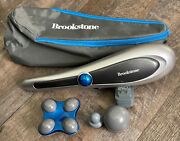 Brookstone Active Sport Variable Speed 3-heads Personal Body Massager F-451